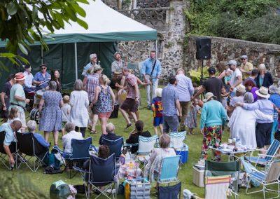 *Dancing at the Jazz picnic July 18