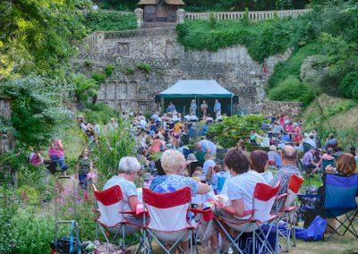 *Enjoying the Jazz picnic July 18